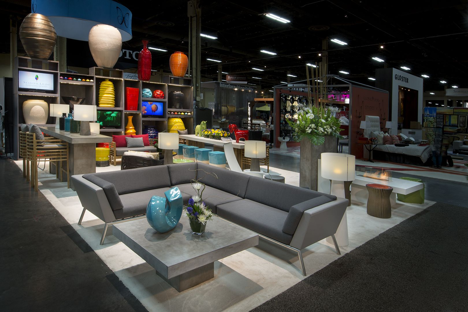 Seasonal Living(R) - Trade Show booth Presentation - Hospitality Design  Expo (HD