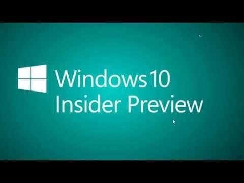 Windows Insiders Daily video update Edge chromum app of