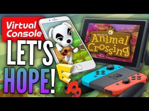 Nintendo Confirms BIG E3! Animal Crossing Switch, App, & AC