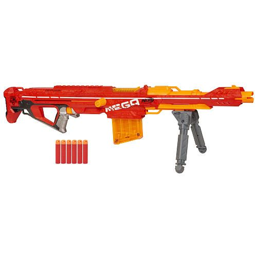 The sale is only for tomorrow, and only in-store, so if you want to pick up  one of the bigger Nerf Sets for a decent price, there you are!