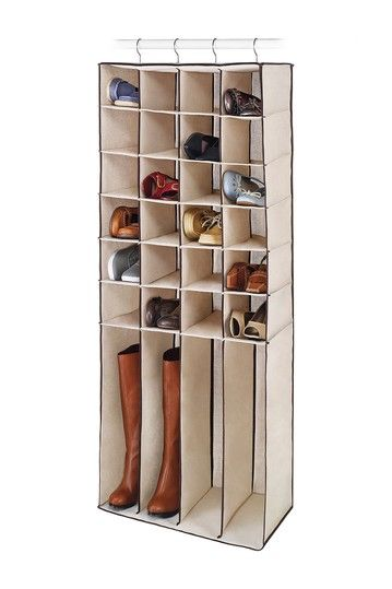Hautelook The Happy Organized Home Hanging Shoe Boot Shelves Shoe Organization Closet Hanging Shoes Hanging Closet Organizer