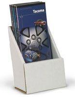 Single Pocket Brochure Holder for Tabletop, Fits 4 x 9 Pamphlets ...