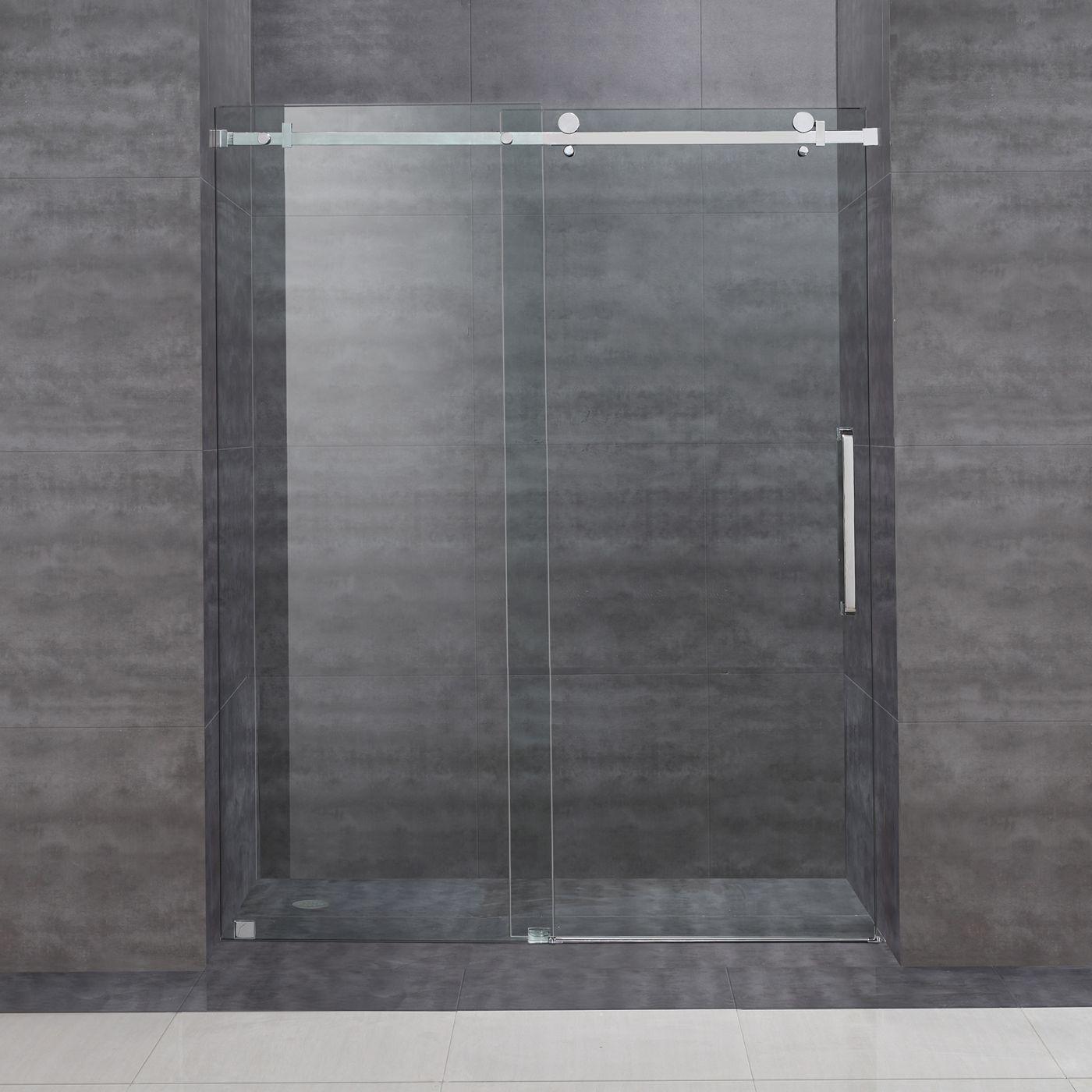 Shop Aston SDR976 Moselle 60-in Frameless Sliding Shower Door at ATG ...