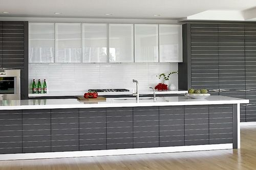 pictures glass kitchen cabinets - Google Search