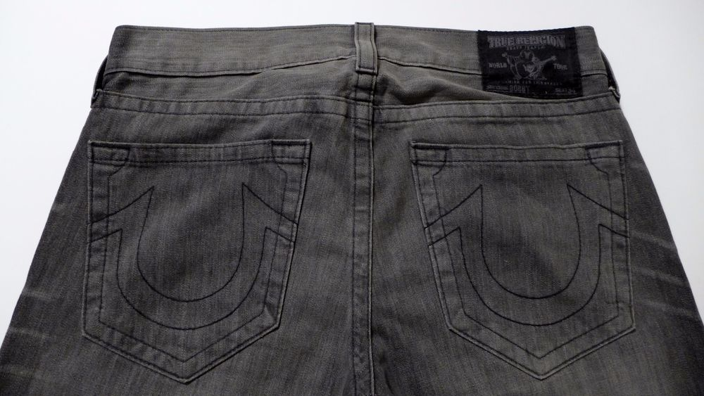 In NYC we love the color black and we love True Religion  jeans! With black men's Bobby style jeans, we have the perfect match!