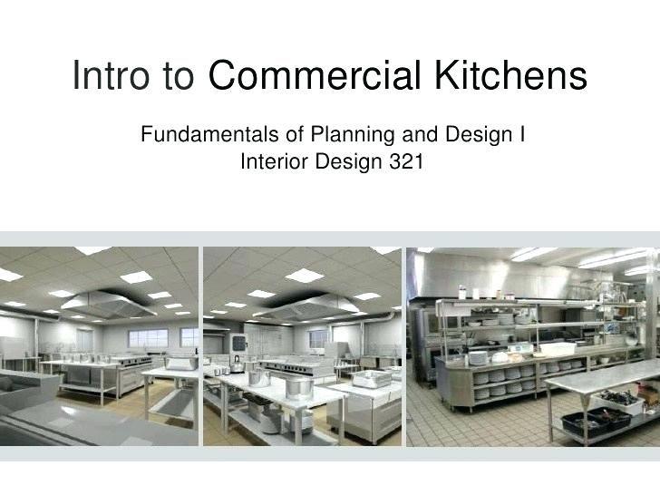 Commercial Kitchen Design Layout Pdf