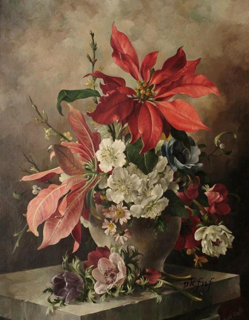 Harold clayton vintage illustration pinterest 정물 및 꽃