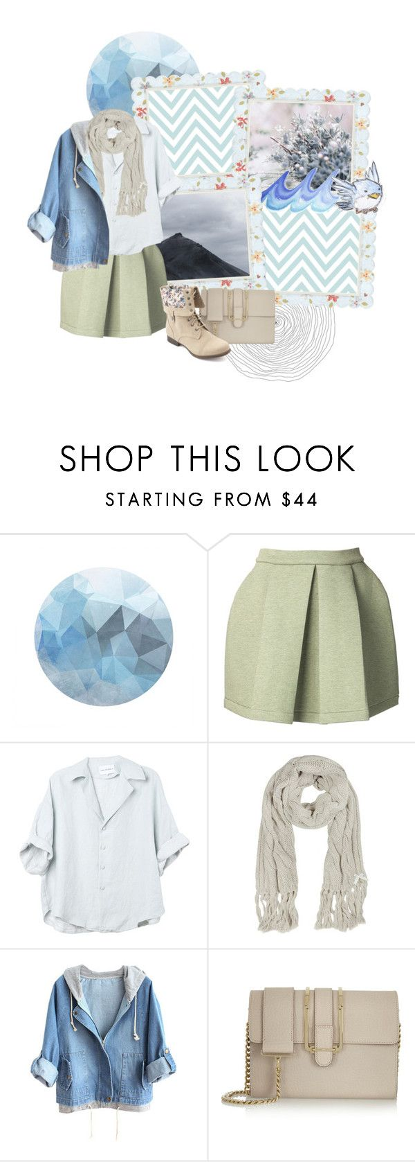 """""""Untitled #247"""" by babybun ❤ liked on Polyvore featuring Funktional, Patrizia Pepe, Chloé and Charlotte Russe"""