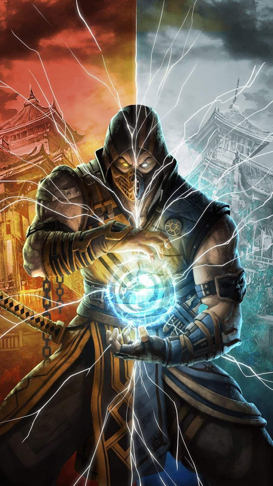 Mortal Kombat Fighter iPhone Wallpaper Mortal kombat x