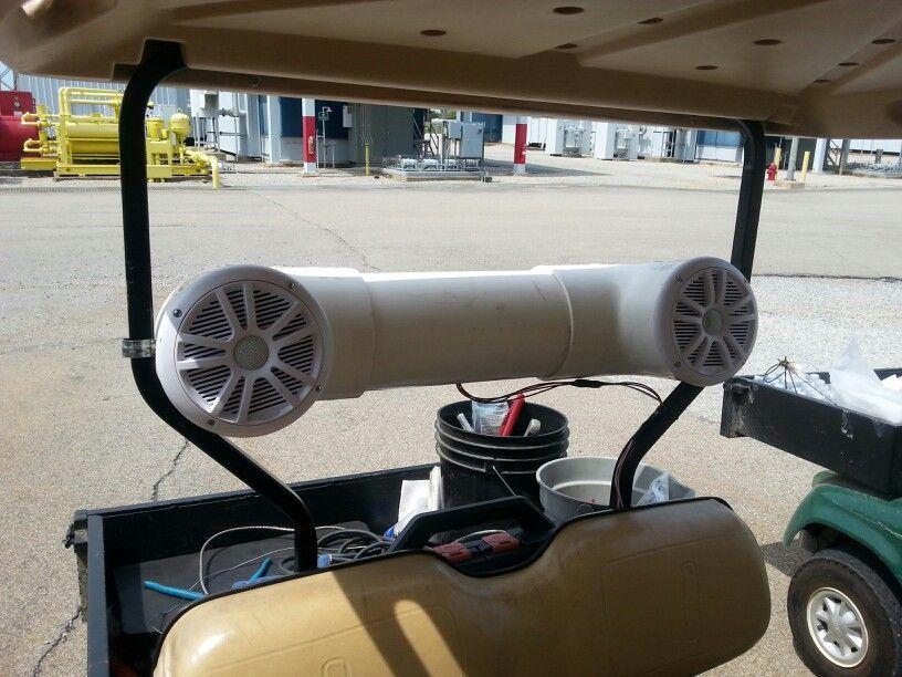 Homemade six inch speaker box for golf cart sound system. | All Golf on snowmobile stereo system, kawasaki teryx stereo system, car stereo system, electric golf cart drive system, golf cart battery system, pool stereo system, dune buggy stereo system, golf cart air conditioning system, marine stereo system, golf cart alarm system, golf carts from rv, golf cart power system, truck stereo system, garage stereo system, golf carts vehicle, golf carts 4 sale, eagle stereo system, 4 wheeler stereo system, atv stereo system, front wheel drive system,