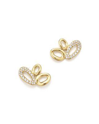 Cherish 18-karat Gold Earrings - one size Ippolita UXYbaRE3a