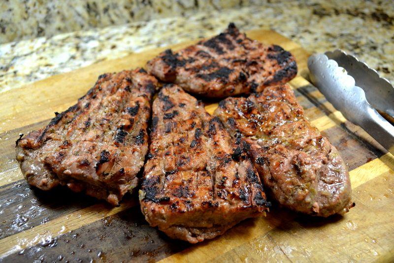 Garlic-Lime Grilled Pork Tenderloin Steaks | Pork, Grilled ...