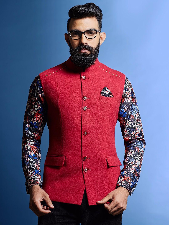 Indian Koti Kurta Designer Traditional Waist Coat Party Wear Modi Nehru Jacket