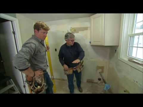 How To Install Kitchen Cabinets Youtube Cabinet Work