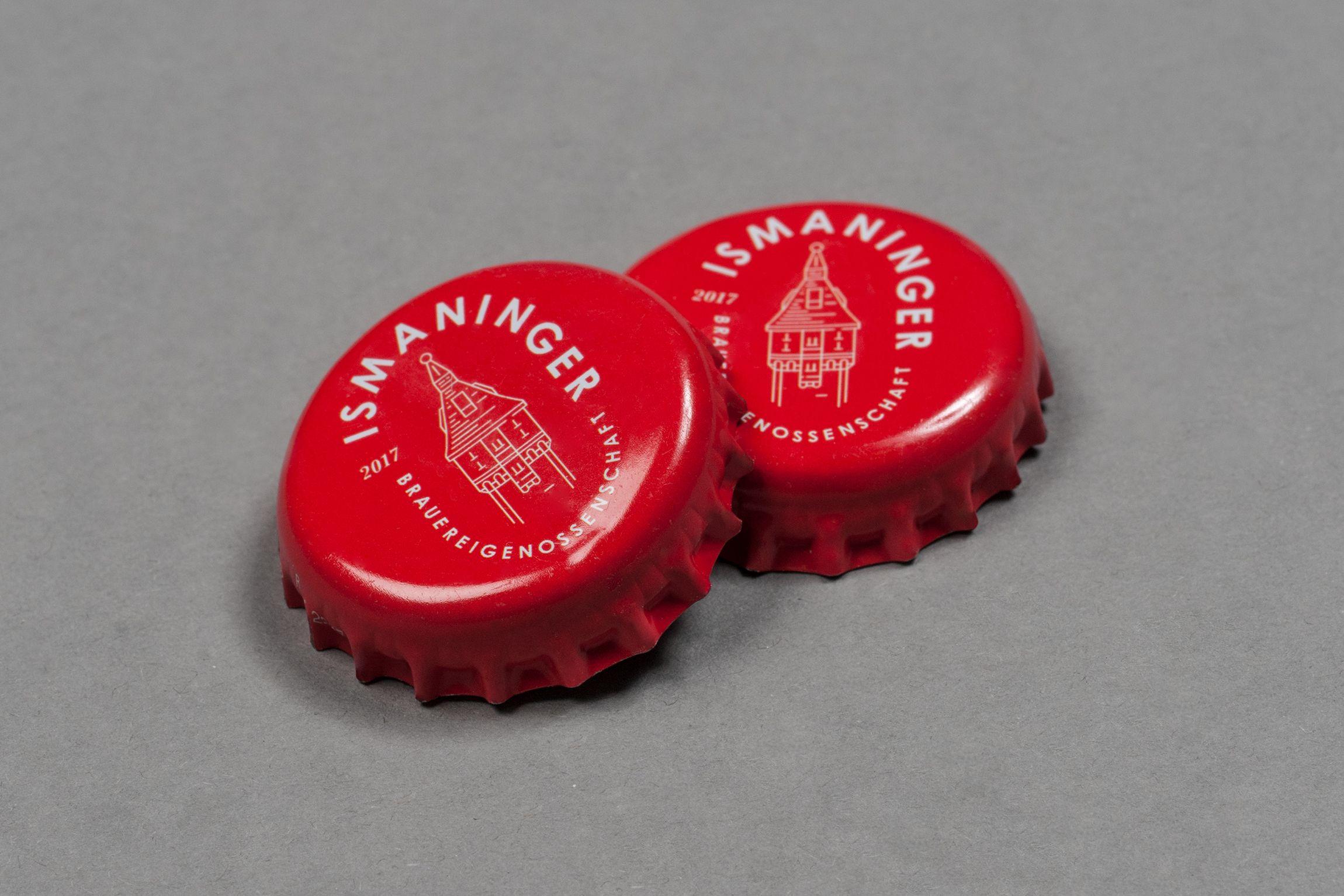 Ismaninger Brauereigenossenschaft Unverwechselbares Brand Design Fur Ein Neues Charakterbier Beer Design Packaging Logo Branding Design Brauerei Design
