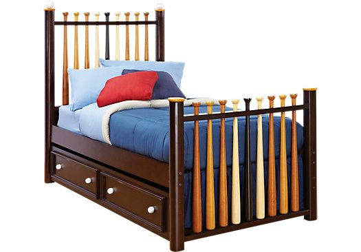 Evans Room Shop For A Batter Up Bed 3 Pc Baseball Twin Bed At