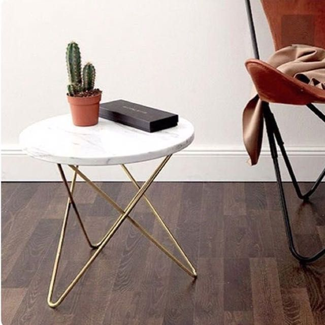 Marble Coffee Table In Singapore: Buy PO Round Marble Side Table In Singapore,Singapore. 3