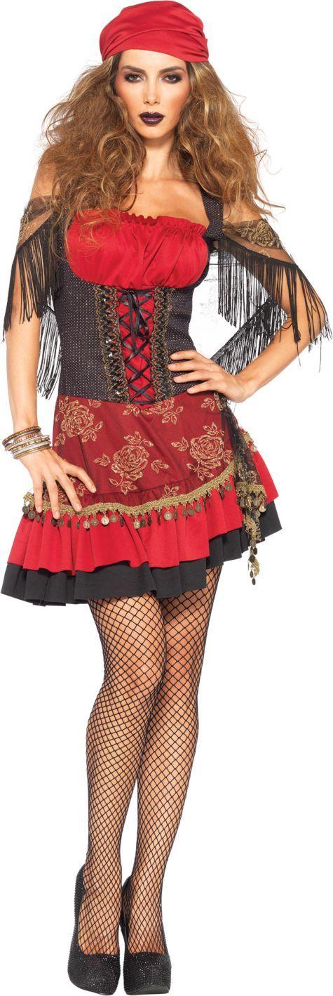 Adult Mystic Vixen Gypsy Costume - Party City halloween - womens halloween ideas