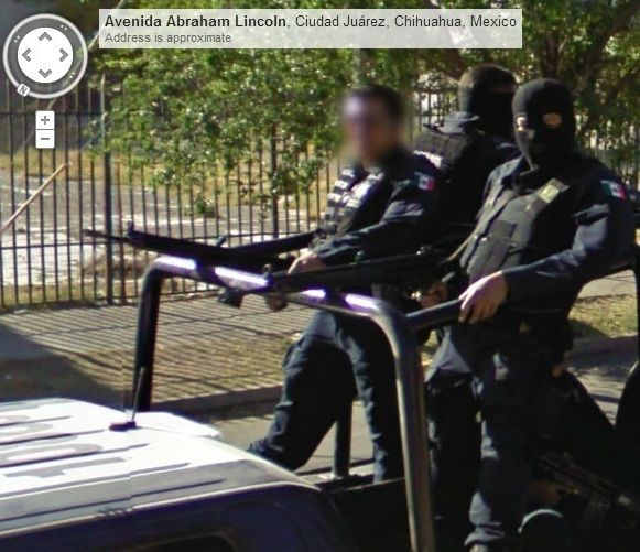 Mexican Police Google Street View Maps Street View Street View