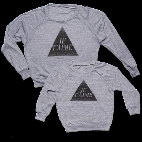 Je T'aime Women's & Kids Pullover TWIN Deal - Women's Small + Kids 2T