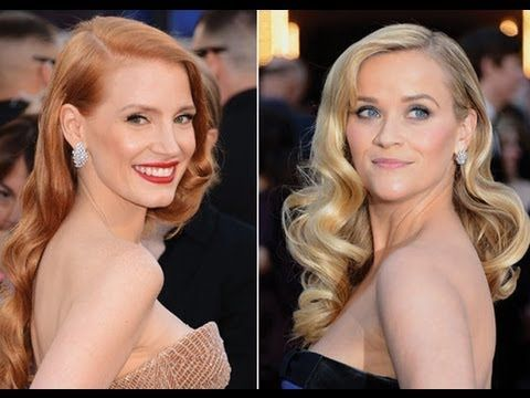 Hollywood Waves Hairstyle Thelatestfashiontrends Com In 2020 Hollywood Glamour Hair Old Hollywood Hair Oscar Hairstyles