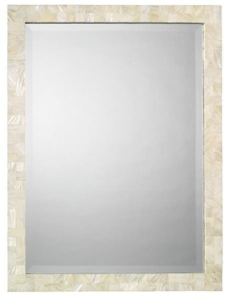 Jamie Young Mother Of Pearl Rectangular Mirror Products