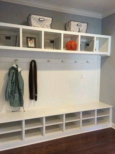 mud room write the vision our first home pinterest organisation rangement et. Black Bedroom Furniture Sets. Home Design Ideas