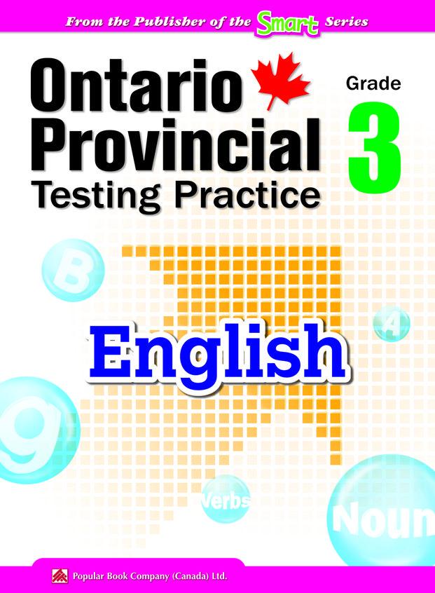 EQAO English workbook for kids Ontario Provincial Testing
