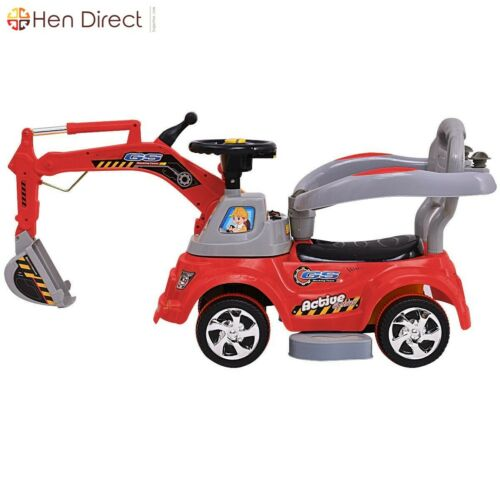 Riding Excavator Digger Car Sliding Car Pulling Car W Remote Control Kid Age 1 3 Ebay Toyride Toyrideoncar Bat Kids Ride On Toys Ride On Toys Dumper Truck