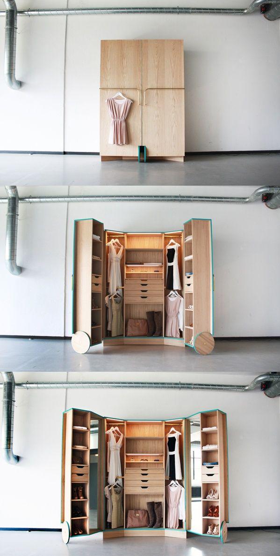Pin By Anna L On Closets Small Closet Space Walk In Closet Design Small Room Design