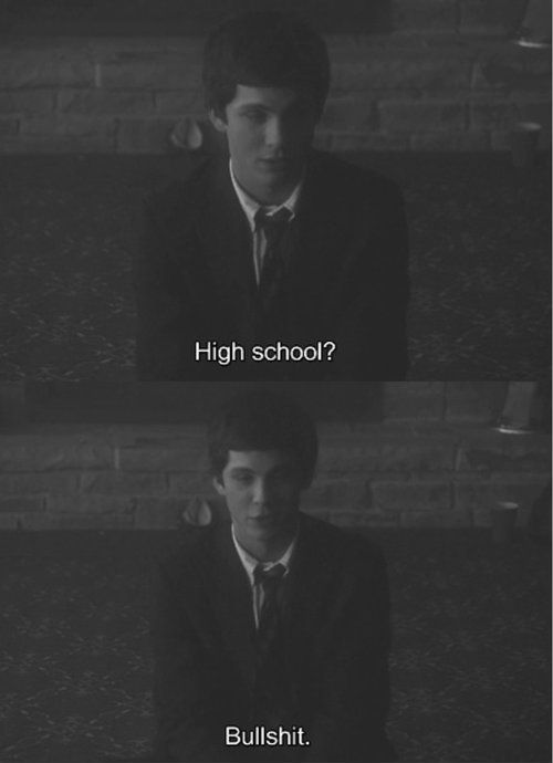 The Perks Of Being A Wallflower This Scene Is Hilarious