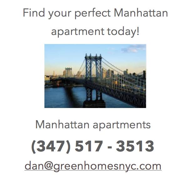 Manhattan New York Studio Apartments: #manhattan #living #apartments #lifestyle #home #decor