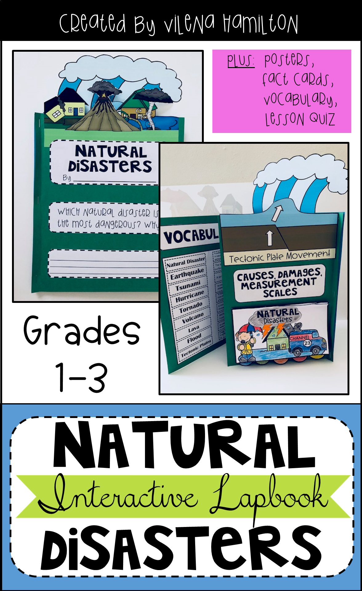Natural Disasters Interactive Lapbook And Mini Unit
