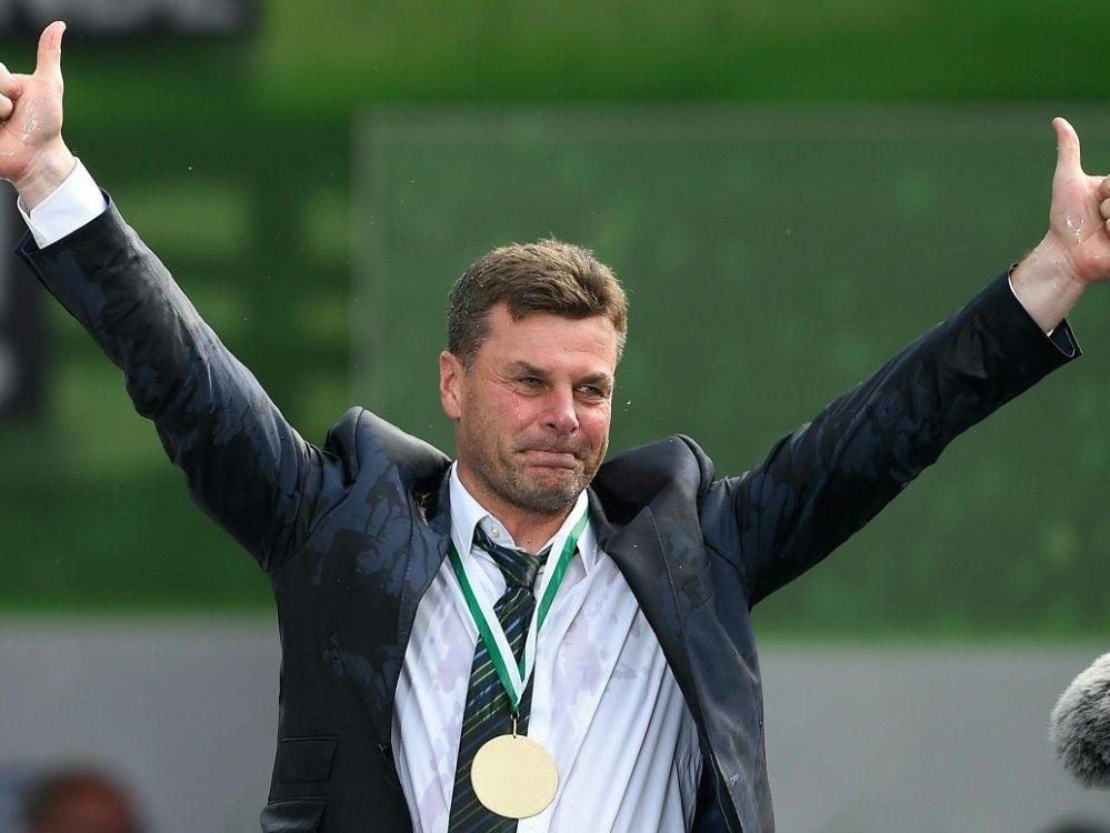 Pokalsieger Hecking fordert weniger Angst vor Bayern - SID-Images/SID-Images/AFP