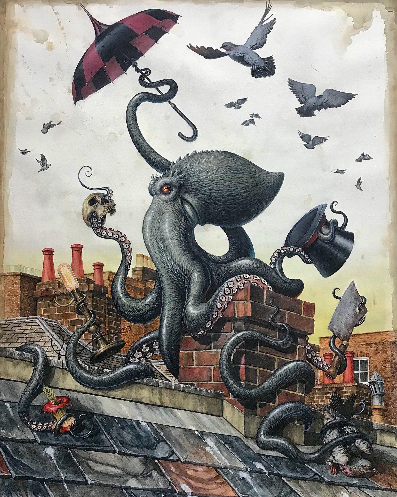 Victor Grasso Victorgrasso Tvitter Art Steampunk