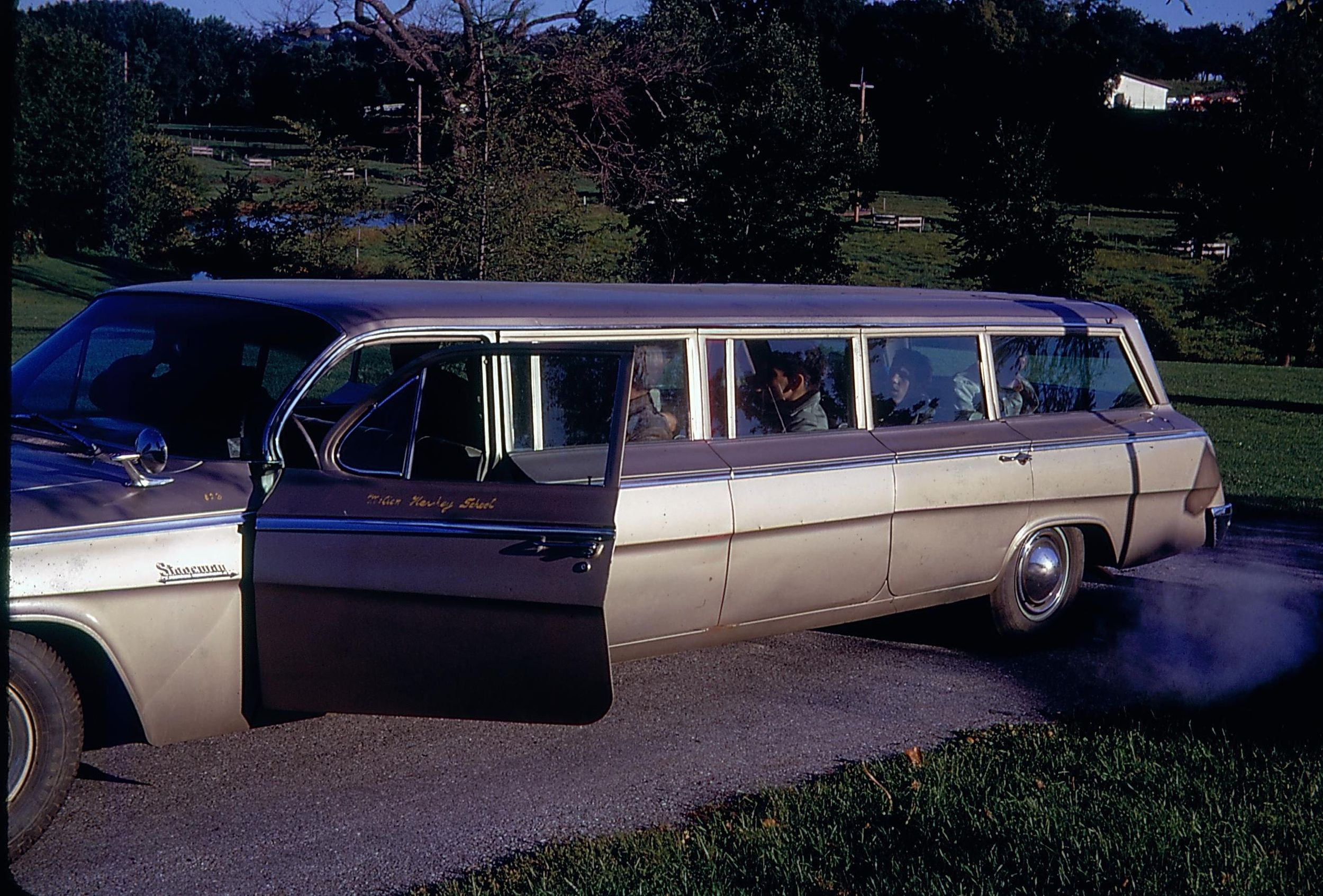Stretched Chevrolet station wagon from the Milton Hershey School ...