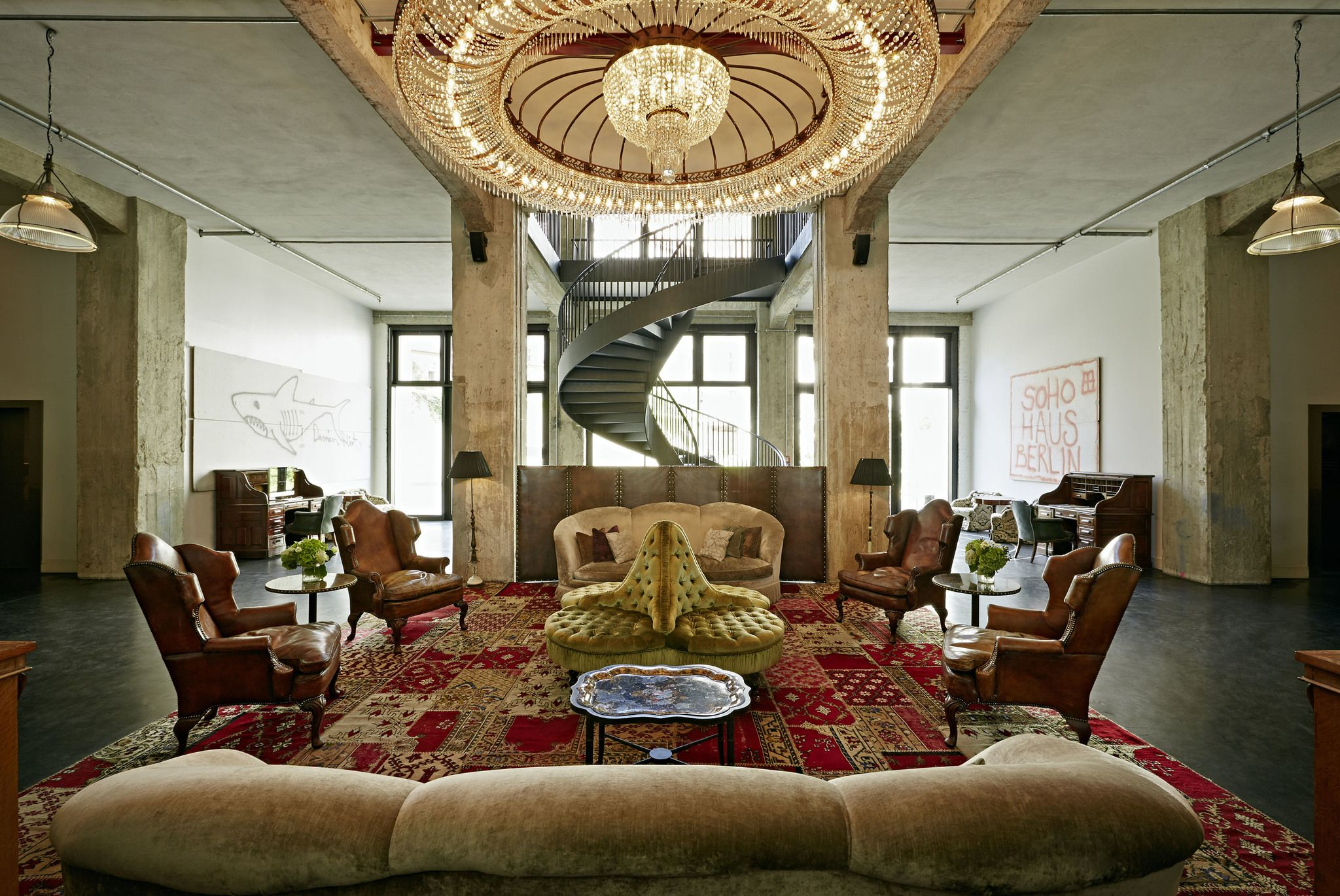 From fashion art design and lifestyle semaine is the place to discover and shop soho house berlin lobby