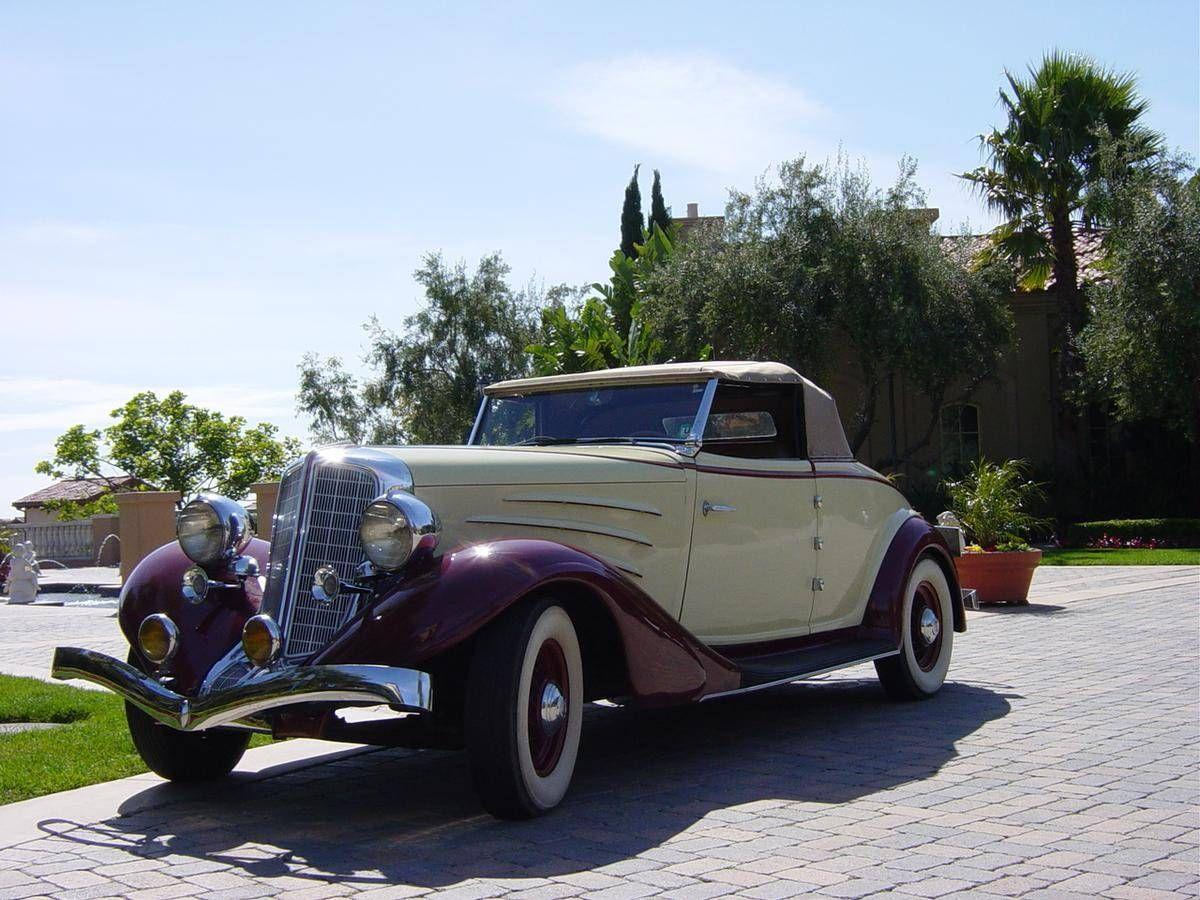 1934 auburn 850 rumble seat roadster automobiles auburn cord pinterest cars classic. Black Bedroom Furniture Sets. Home Design Ideas