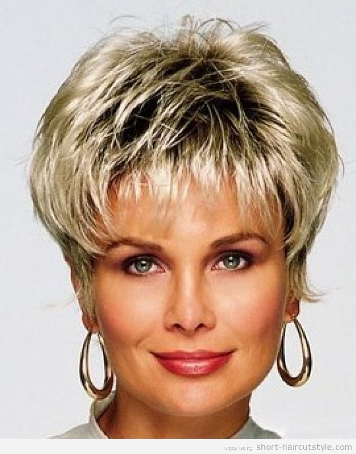 Short Hair Hairstyles Extraordinary Plus Size Short Hairstyles For Women Over 40  Short Layered