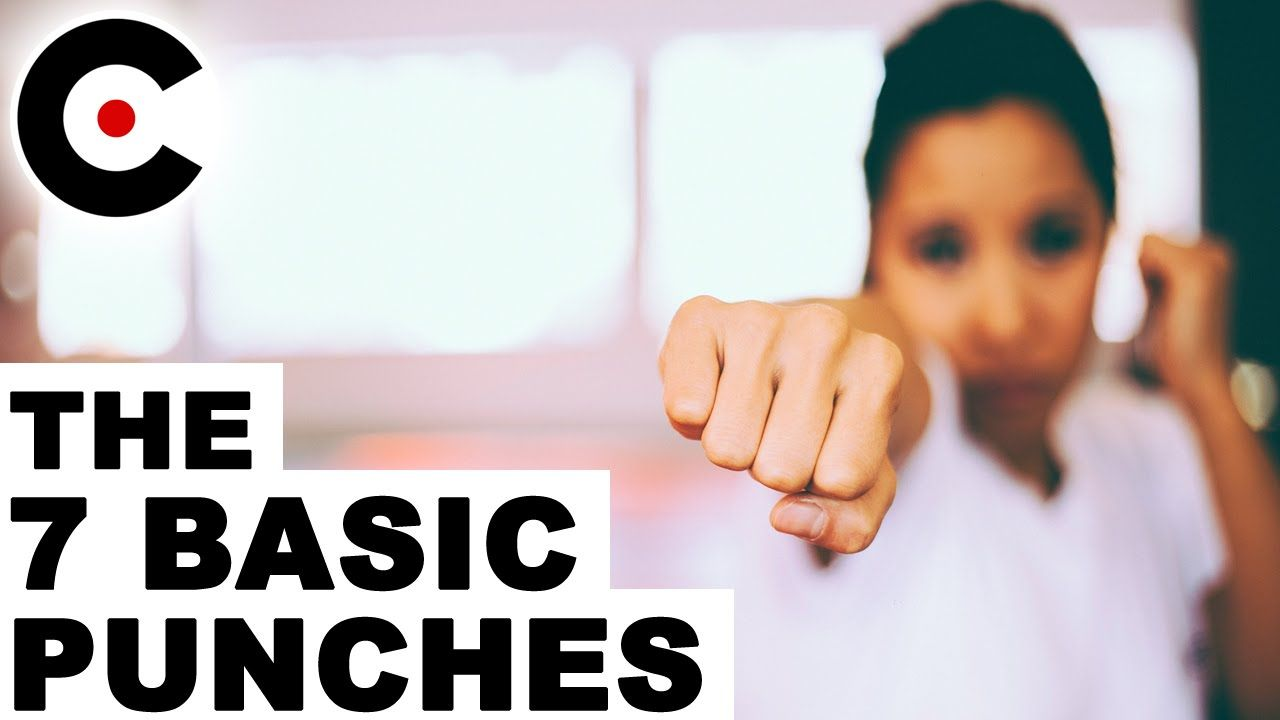 How to punch the 7 basic punches effective martial