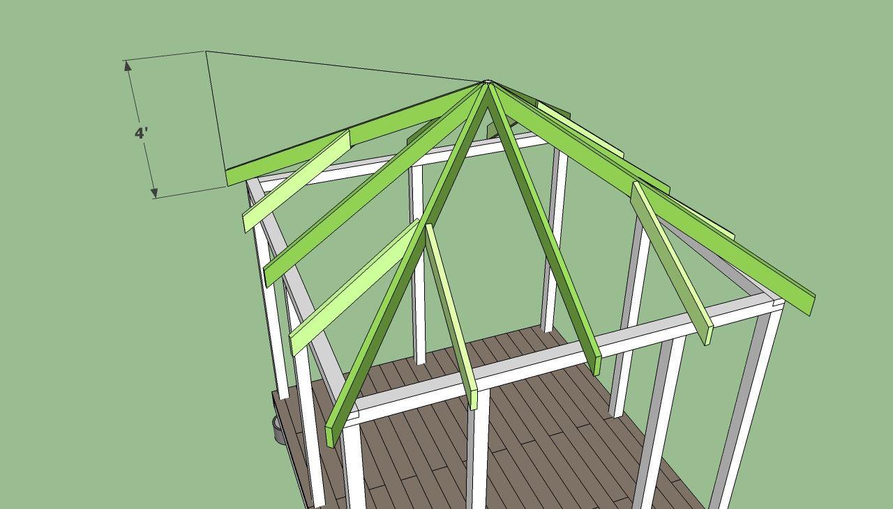 Square Gazebo Plans Free | DIY Free Plans   Coop, Shed, Playhouse