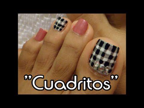Decoracin Elegante Para Uas Para Los Pies Fancy Toe Nail Art