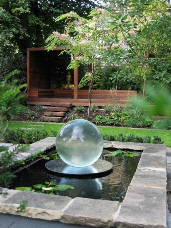 Astuces pour créer votre propre bassin de jardin moderne | Modern ...