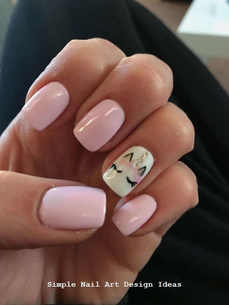 Unicorn Nails Art