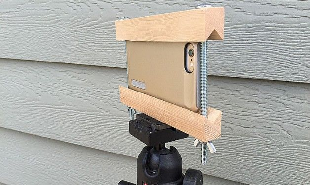 Make your own iPhone or Smart Phone Tripod Mount for Under ...