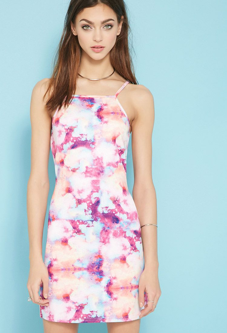 Pink dress forever 21  Paint It Red Wanderlust Dress  Forever     shopping