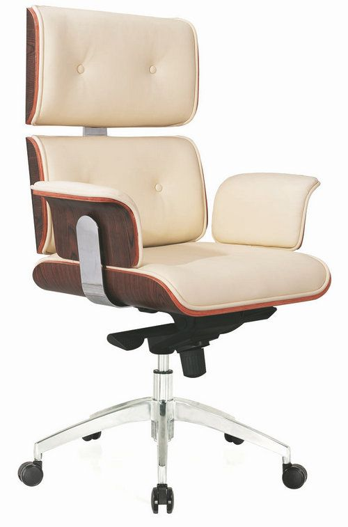 Luxury Leather Office Chair Pu Executive Boss Eames Http
