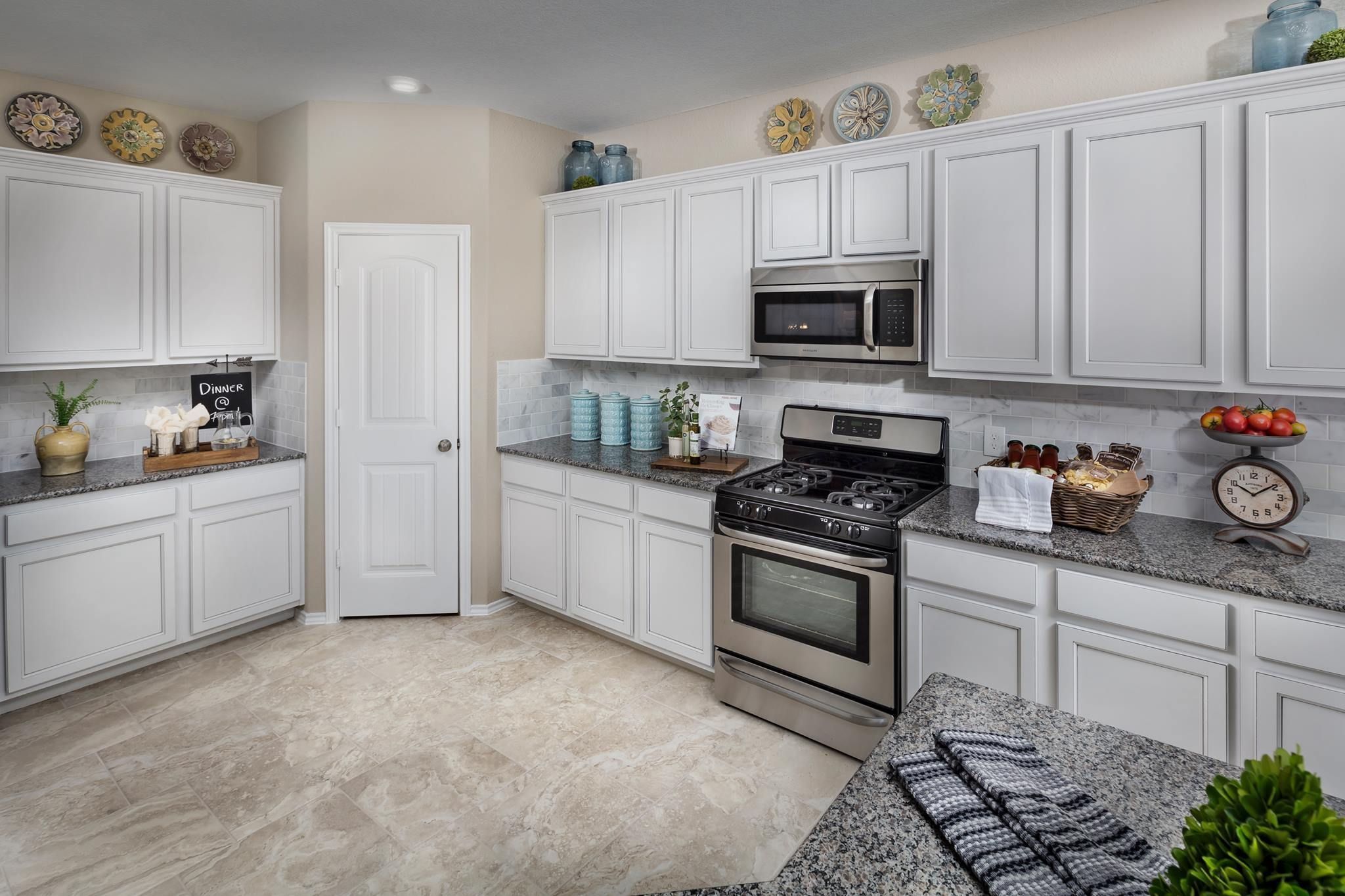 What color would you paint these kitchen cabinets?! # ...