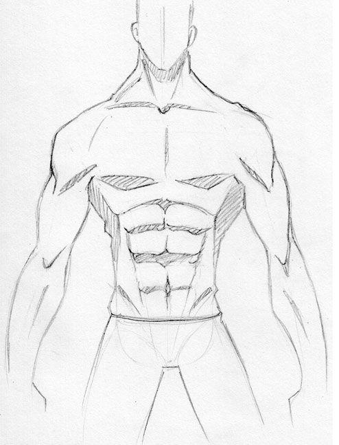 Abdo masculin manga 4 referencias - Comment colorier un manga ...