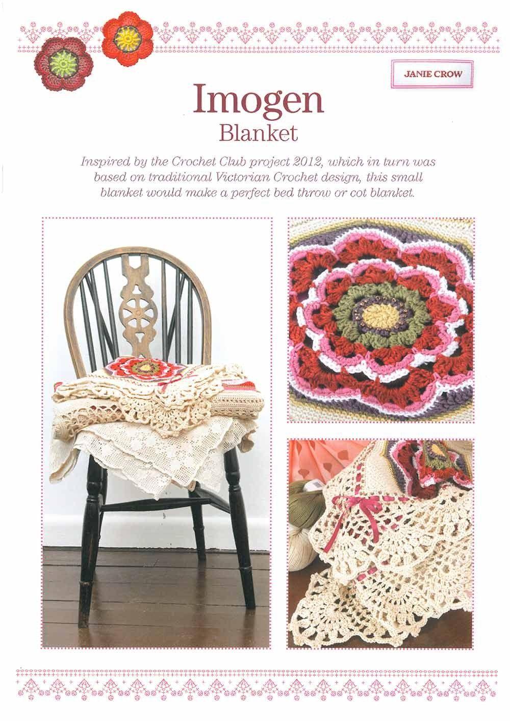 Imogen Blanket Pattern by Janie Crow   crochet /tricot Janie Crow ...